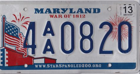 Vanity Plates Maryland by Maryland License Plates