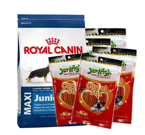 Royal Canin Medium Junior 4 Kg Makanan Anjing 1 royal canin maxi junior 4 kg with jerhigh carrot stick