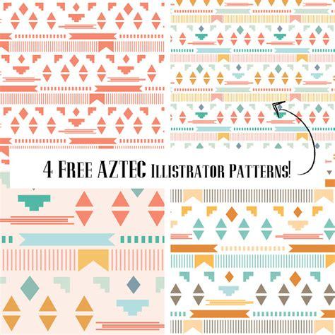 illustrator pattern move teal pixels photography free aztec illustrator patterns