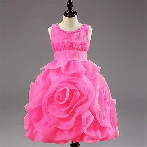 Bw2049 New Year Baby Dress Prewalker yellow dresses oversize 3d flower dress layered design tutu dress d for dress