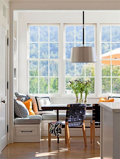 built  kitchen banquette ideas dining room seating