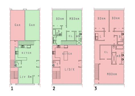 5 Level Split Floor Plans by Modern House Plans By Gregory La Vardera Architect