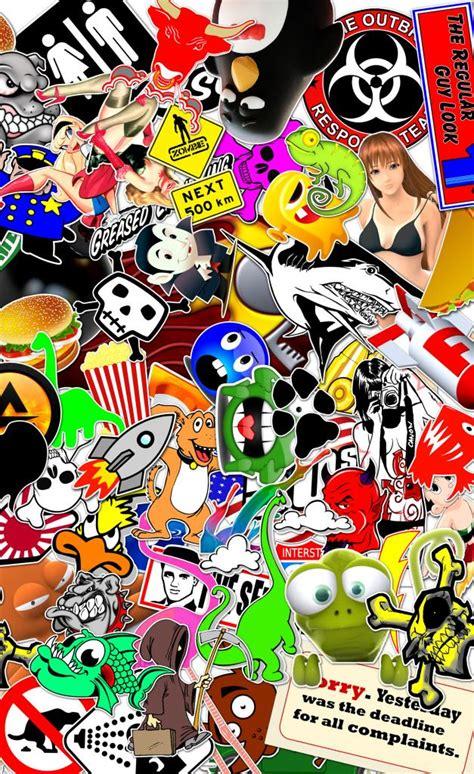 Wallpaper Sticker 5 jdm sticker bomb wallpaper wallpapersafari