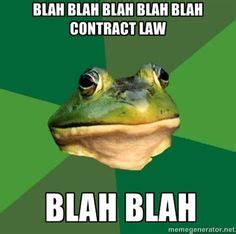 Contract Law Meme - 1000 images about legal contract on pinterest