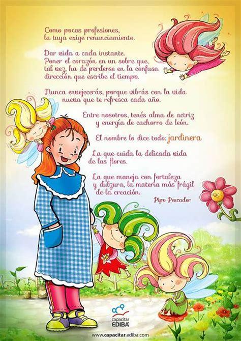 versos a los jardineros canci 243 n y palabras dedicadas a la maestra jardinera