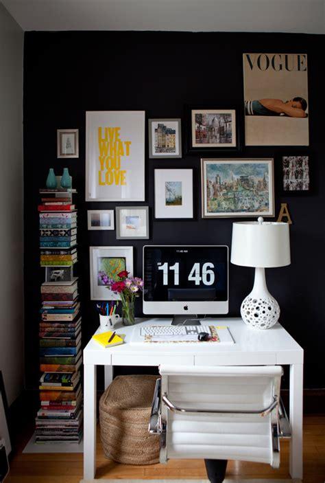 office inspiration sunday decor black and white home office inspiration m a n d i l o v e s