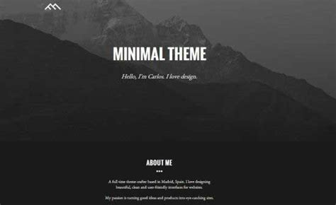 bootstrap themes minimal 25 latest bootstrap themes free download designmaz