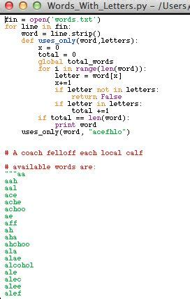Letter Frequency Python print alphabet letters python docoments ojazlink