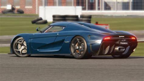 Koenigsegg Regera Top Gear Testing