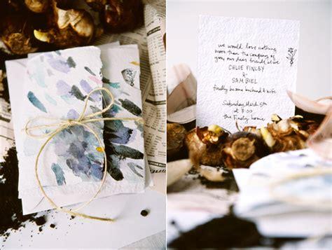 watercolor wedding invitations diy diy watercolor wedding invitations once wed
