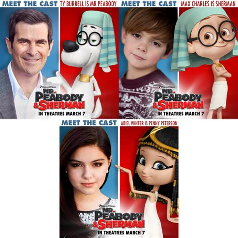 leslie mann i like spiderman mr peabody sherman meet the cast printables and the