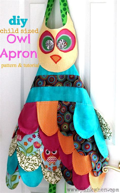 apron pattern step by step my little owl apron confession patterns tutorials and