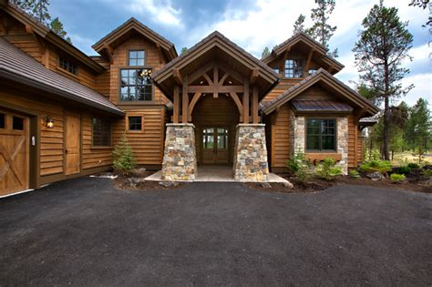 luxury mountain craftsman house plan 9069
