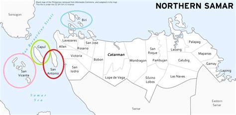 map of san jose northern samar phfirsttravel ph 187 ph random journey northern samar