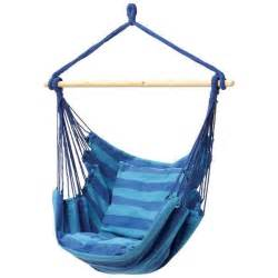 yugster comfortable hanging swing chair blue