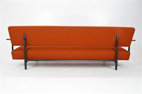 upholstered daybed sofa 1960s dutch mid century sofa or daybed by robert parry
