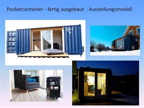 Mikrohaus Deutschland by Pocketcontainer Das Mikrohaus Die Einraumwohnung Im