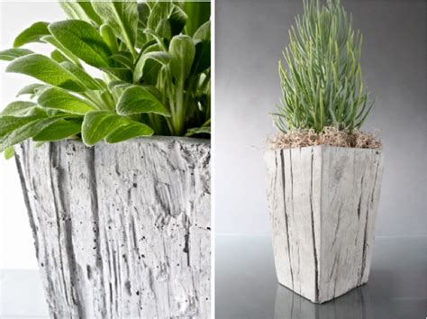 Ideas Design For Cement Planters Concept Concrete Planter Box Designs Homesfeed