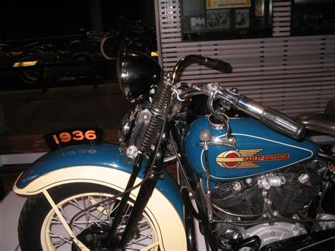 original paint blue 1936 1947antique and vintage harley davidsons harley davidson motorcycles