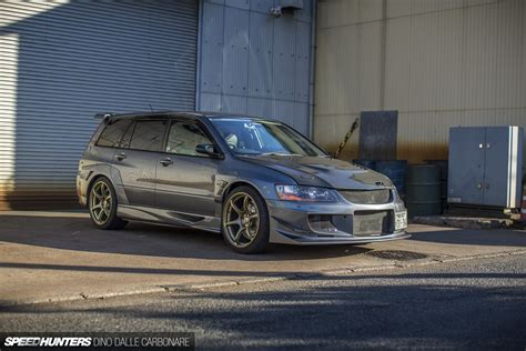 mitsubishi evo wagon the wangan wagon speedhunters