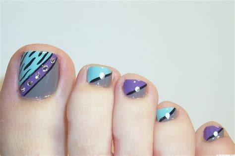 awesome cool toe nail designs at home contemporary