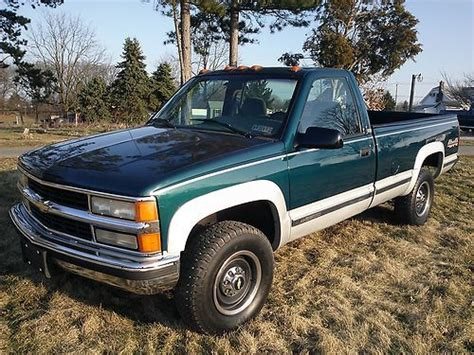 how to work on cars 1996 chevrolet 2500 auto manual find used 1996 chevy silverado 3 4 ton hd 4x4 clean only 69 000 original miles in york