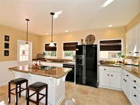 l kitchen with island layout l shaped kitchens hgtv