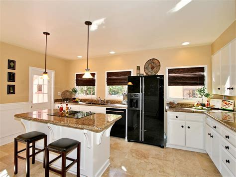 Open Plan Kitchen Design L Shaped Kitchens Hgtv