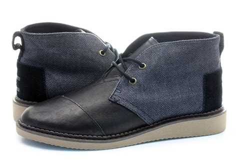 toms boots toms shoes mateo chukka 10009180 blk shop for