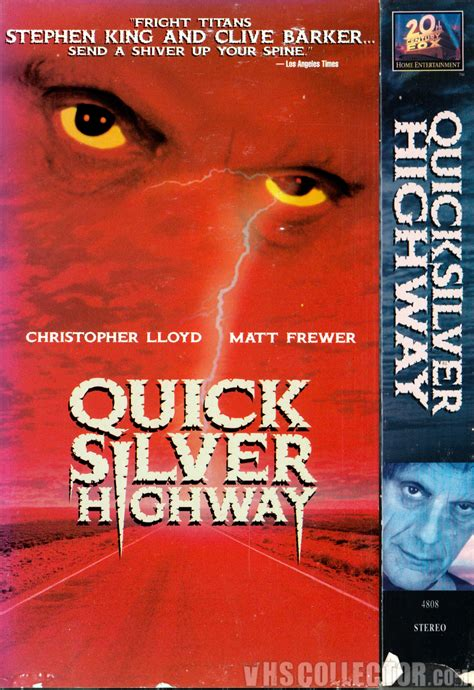 film quicksilver highway quicksilver highway vhscollector com your analog