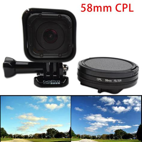 Filter Gopro 4 Session go pro 4 session 58mm gopro cpl filter circular