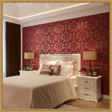 red wallpaper bedroom ideas stylish red 3d bedroom wallpaper designs ideas fashion