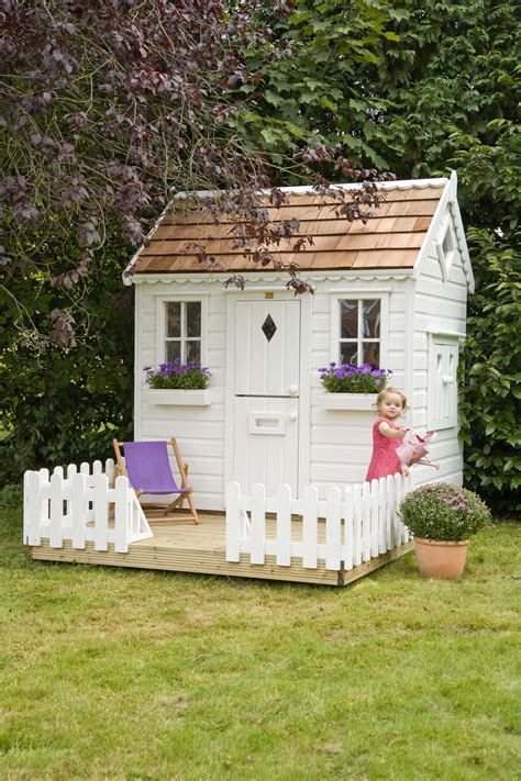 Who Played In House by Garden Playhouse With Fencing Playhouses The Playhouse Company