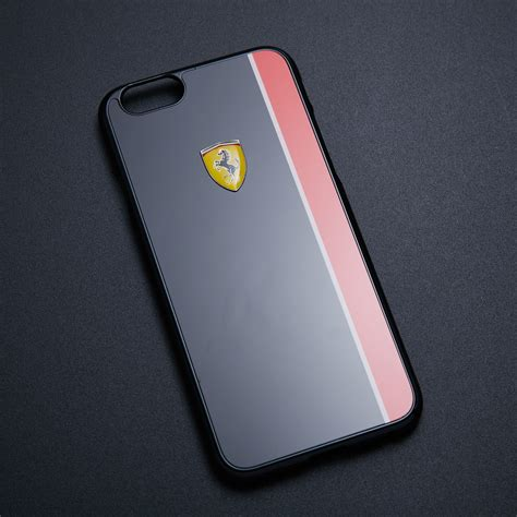 Iphone 6 6s Lacoste Black Stripe Hardcase scuderia black racing stripe iphone 6 6s touch of modern