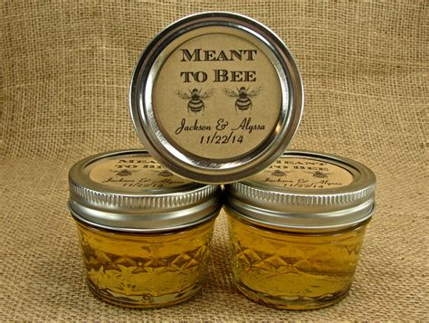 Mason Jar Wedding Giveaways - mini mason jar wedding favors wedding honey favor jars