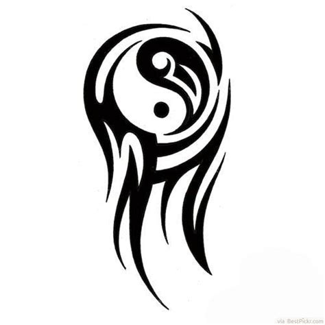 yin yang tribal tattoos tribal small yin yang ink http bestpickr