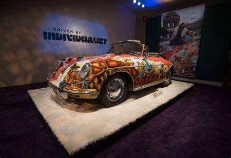 janis joplin porsche sells  record amount  auction news