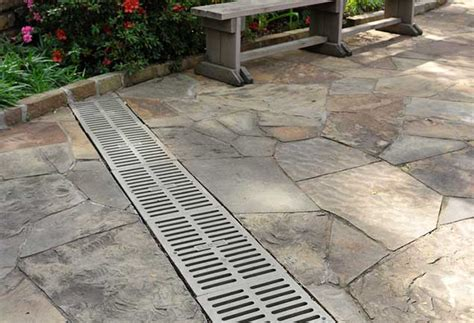 Patio Drainage Ideas by Patio Patio Drainage Home Interior Design