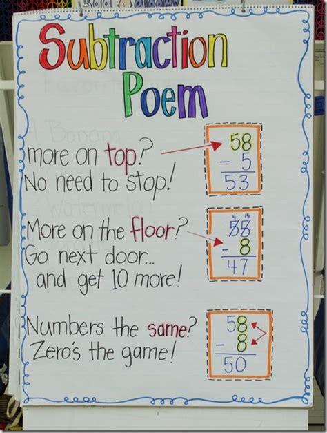 subtraction poem ctspedmathdude