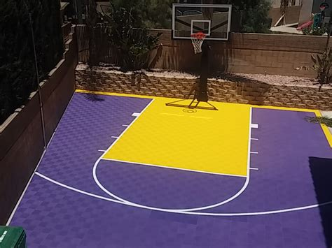 backyard basketball court ideas picture gallery
