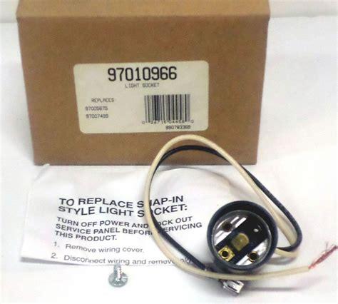 how to change light bulb in nutone bathroom fan 97010966 broan nutone light bulb socket for vent fan
