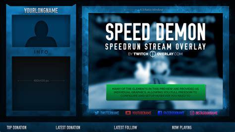 Mukena Bordir Strimin Kode Sbm1s speed speedrun overlay twitch overlay