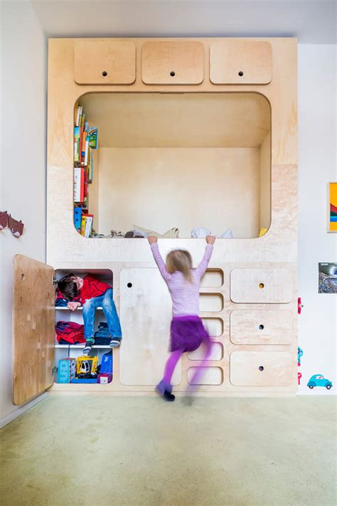 kids bedroom design idea include  cubby  reading nook