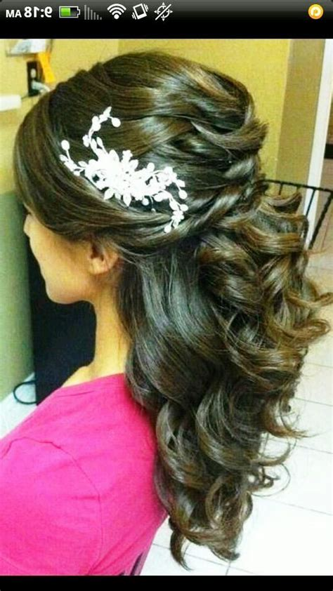 Quinceanera Hairstyles With Curls by Quinceanera Hairstyles With Curls And Tiara 2014 Www