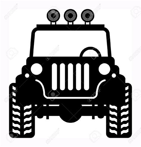 jeep grill icon off road jeep clipart clipartxtras