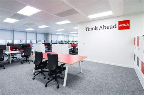 acca glasgow office fit out completed by clark contracts