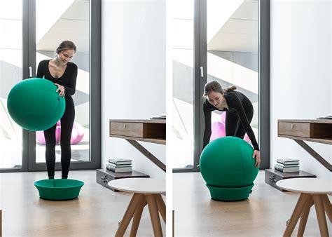 siege ballon si 232 ge en forme de ballon de id 233 al pour un bon maintien