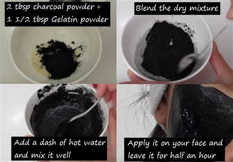 charcoal mask diy how to make your own diy activated charcoal masks