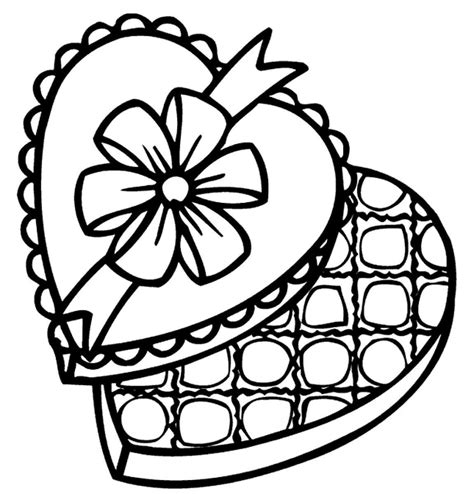 chocolate coloring page coloring home