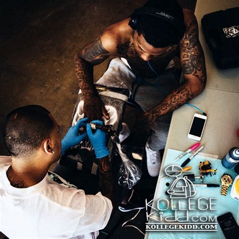 lil durk tattoos lil durk honors otf nunu and pluto with new tattoos
